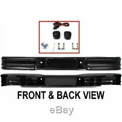 66001 FEY Step Bumper Face Bar Rear New for Chevy S10 Pickup S-10