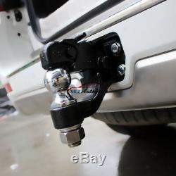 8.0 Ton For Toyota Land Cruiser LC200 FJ200 Trailer Tow Bar Hitch Ball Mount Kit