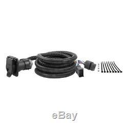 B&W 2-5/16 Gooseneck Hitch with Hole Saw & Curt Wiring Kit for 95-01 Dodge Ram