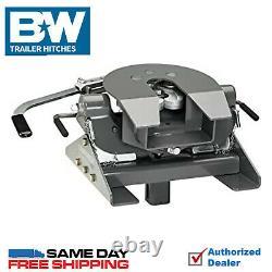 B&W Companion 5th Wheel Gooseneck Hitch Adapter For Flatbed Trucks