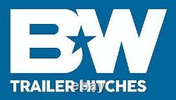 B&W GNRK1500 Flatbed Kit for Turnoverball Underbed Mount Gooseneck Trailer Hitch