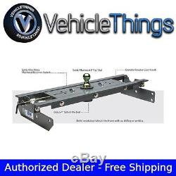 B&W Turnoverball Gooseneck Hitch Complete Kit for Dodge Ram