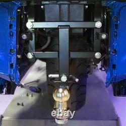 Black Vertical Receiver Trailer Hitch Kit For Honda Goldwing GL1800 2012-2017 15