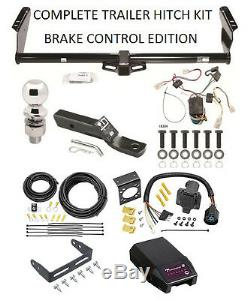 COMPLETE TRAILER HITCH KIT FOR 04-10 TOYOTA SIENNA With PROPORTIONAL BRAKE CONTROL