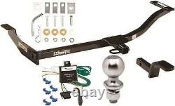 COMPLETE TRAILER HITCH PACKAGE With WIRING KIT FOR 1999-2003 MAZDA PROTEGE CLASS I