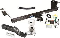 COMPLETE TRAILER HITCH PACKAGE With WIRING KIT FOR 2008-10 CHRYSLER TOWN & COUNTRY
