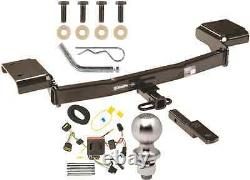 COMPLETE TRAILER HITCH PACKAGE With WIRING KIT FOR 2011-2016 KIA SPORTAGE CLASS II
