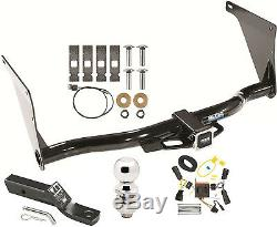 COMPLETE TRAILER HITCH PACKAGE With WIRING KIT FOR 2013-2016 FORD ESCAPE CLASS III