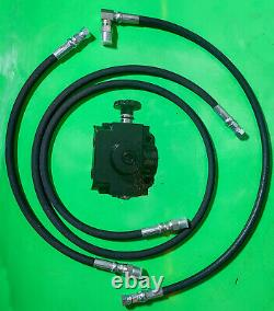 Case Ingersoll COMPLETE SELECTOR VALVE KIT for 3 point hitch Kit Style #1