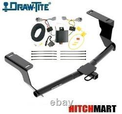 Class 1 Trailer Hitch & Tow Wiring Kit for 12-16 Impreza Wagon Except WRX STi