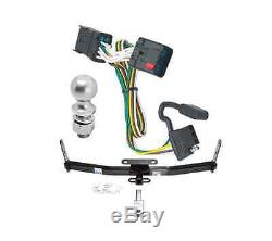 Class 2 Trailer Hitch Receiver Tow Kit with Wiring & 2 Ball for Equinox/Torrent
