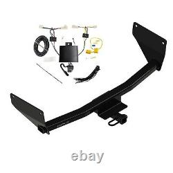 Class 2 Trailer Hitch & Tow Wiring Kit for 2019-2021 Toyota Rav4 1 1/4 Receiver