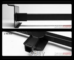Class 3/Iii Matte Black Receiver Towing 2 RV Trailer Hitch For Up To 72 Frame