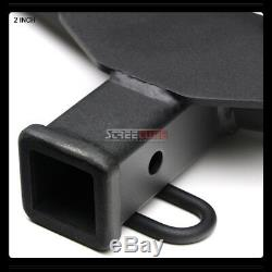 Class 3/Iii Matte Black Trailer Hitch Receiver Tube Towing For 06-12 Toyota Rav4