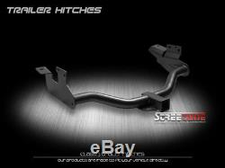 Class 3/Iii Matte Blk Hitch Receiver Rear Tube Towing For 05-12 Ford Escape Suv