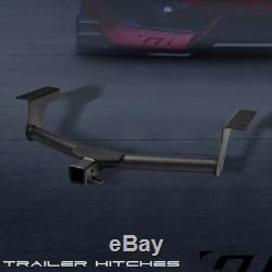 Class 3 Matte Blk Trailer Hitch Receiver Bumper Tow 2 For 2006-2012 Toyota Rav4