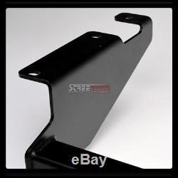 Class 3 Matte Blk Trailer Hitch Receiver Bumper Towing For 08-16 Town & Country