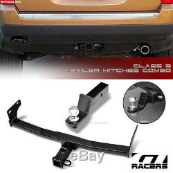 Class 3 Trailer Hitch Receiver+2 Ball Mount For 2011-2017 Jeep Patriot/Compass