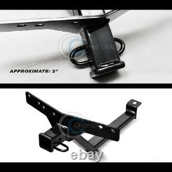 Class 3 Trailer Hitch Receiver Rear Bumper Tow Kit 2 For 00-06 BMW E53 X5 SUV