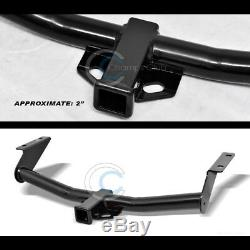 Class 3 Trailer Hitch Receiver Rear Bumper Tow Kit 2 For 02-07 Jeep Liberty Suv