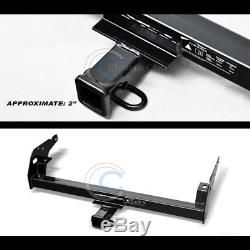 Class 3 Trailer Hitch Receiver Rear Bumper Tow Kit 2 For 95-03 04 Toyota Tacoma