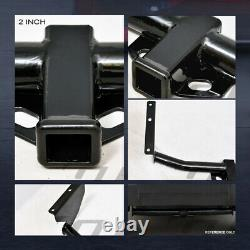 Class 3 Trailer Hitch Receiver Rear Bumper Towing 2 For 1999+ Grand Cherokee