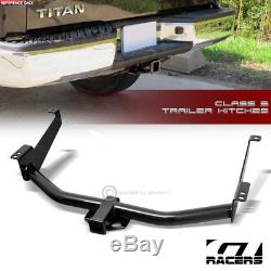 Class 3 Trailer Hitch Receiver Rear Bumper Towing 2 For 2004-2015 Nissan Titan