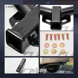 Class 3 Trailer Hitch Receiver Rear Bumper Towing 2 For 2008-2012 Jeep Liberty