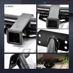 Class 3 Trailer Hitch Receiver Rear Bumper Towing Kit 2 For 2007-2013 Acura MDX