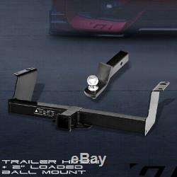 Class 3 Trailer Hitch Receiver with2 Ball Bumper Mount For 1983-2011 Ford Ranger