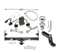Class 3 Trailer Hitch Tow Kit with1-7/8 Ball & Wiring for 1998-2006 Jeep Wrangler