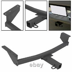 Class 3 Trailer Hitch Tow Receiver 2'' For Nissan Rogue S / SL / SV 2008-2020