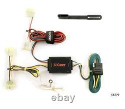 Class 3 Trailer Hitch & Tow Wiring Kit for 1996-2004 Toyota Tacoma Pickup 2 Sq