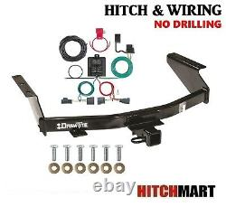 Class 3 Trailer Hitch & Tow Wiring Kit for 2007-2011 Dodge Nitro, 2 Receiver