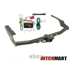 Class 3 Trailer Hitch & Tow Wiring Kit for 2014-2019 Toyota Highlander 2 Rec