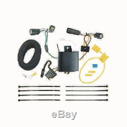 Class 3 Trailer Hitch & Tow Wiring Kit for 2015-2018 Ford Edge Titanium Only