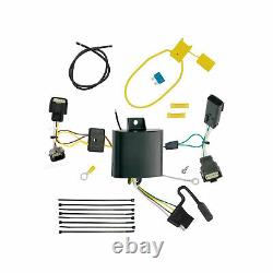 Class 3 Trailer Hitch & Tow Wiring Kit for 2015-2021 Dodge Charger 2 Receiver