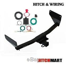 Class 3 Trailer Hitch & Tow Wiring Kit for 2019-2020 Toyota Rav4, 2 Receiver