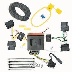 Class 3 Trailer Hitch & Tow Wiring Kit for for 2007-2010 Ford Edge, Lincoln MKX