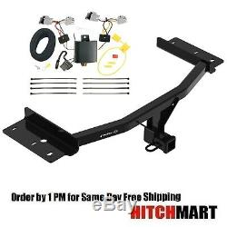 Class 3 Trailer Hitch & Wiring Kit For 2020 Ford Explorer, 2 Receiver Opening