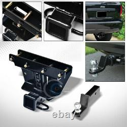 Class 3 Trailer Hitch with2 Loaded Ball Bumper Tow Kit For 05-10 Grand Cherokee