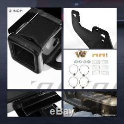 Class 4 Trailer Hitch Receiver Bumper Tow Heavy Duty 2 For 2015-2018 Ford F150