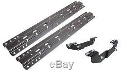 Curt 16418/16204 Fifth Wheeel Hitch Bracket & Base Rail Kit for Silverado 3500
