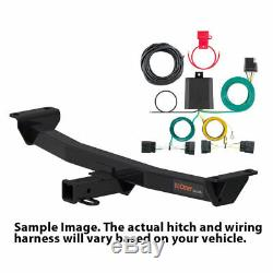 Curt Class 3 Trailer Hitch Tow Receiver Wiring Harness Kit for 2016-2020 Pilot