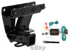 Curt Class 3 Trailer Hitch & Wiring Kit for Jeep Grand Cherokee