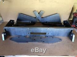 DIY Kit Front Winch Bumper Bare Metal For 1984-2001 Jeep Cherokee XJ