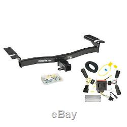 Draw-Tite Max-Frame Receiver Class III Hitch with Wiring Kit for 11-14 Ford Edge