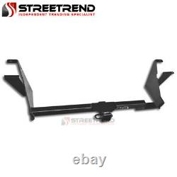 For 04-07 Caravan withStow-n-Go Class 3 Trailer Hitch Receiver Rear Bumper Tow 2