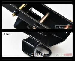 For 05-10 Grand Cherokee Class 3/Iii Trailer Hitch Receiver Rear Tube Towing Kit
