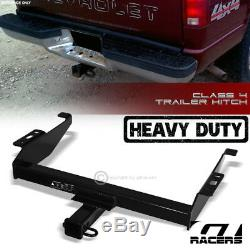 For 1988-1993 Chevy/GMC C/K Class 4 Trailer Hitch Receiver Towing Heavy Duty 2